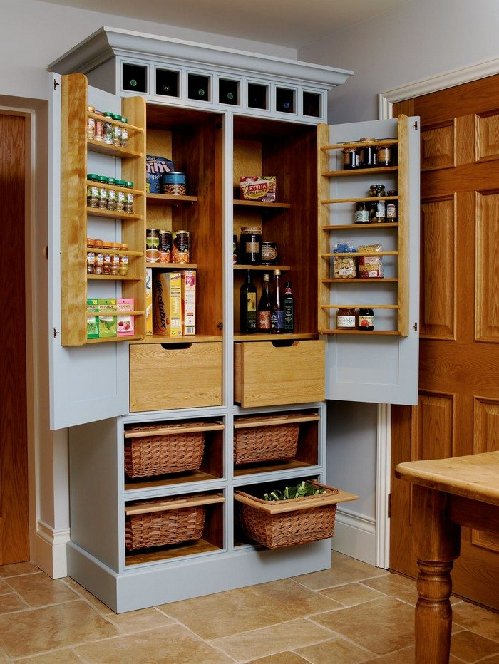 free standing kitchen pantry cabinet plans build a freestanding pantry diy projects for everyone 15605