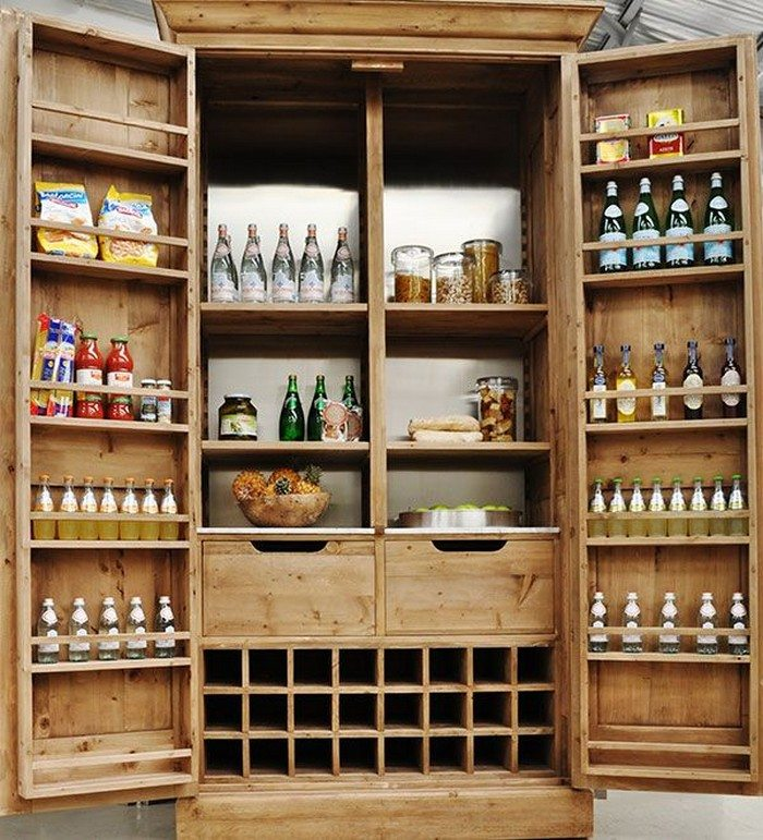 Built In Kitchen Pantry Ideas: Build A Freestanding Pantry