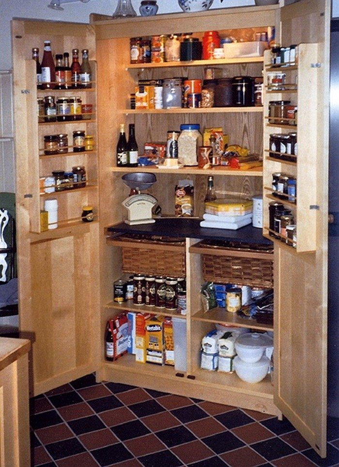 Wooden Pantry Cupboards ~ Build a freestanding pantry diy projects for everyone