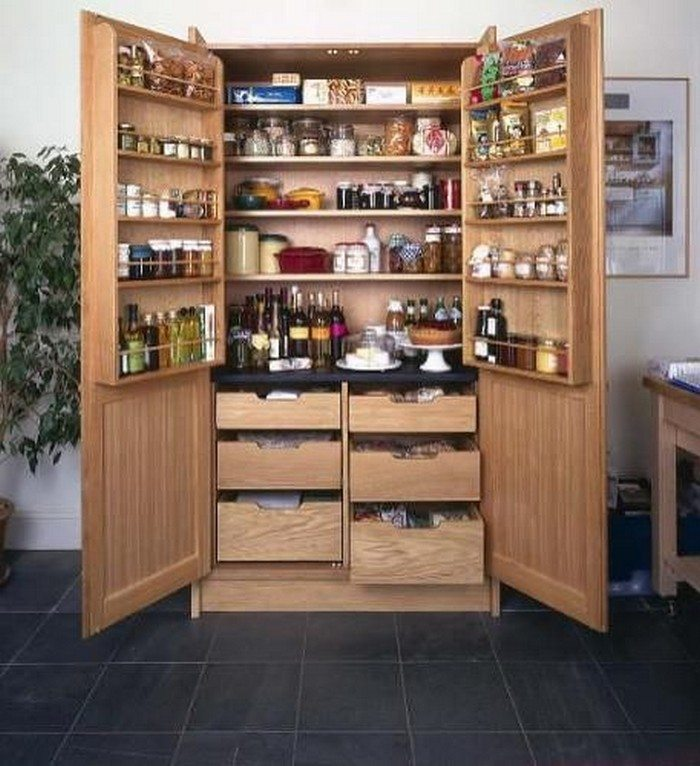 build a freestanding pantry  diy projects for everyone, Kitchen