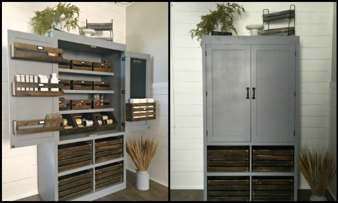 big space to have a pantry if you need just a small pantry for your