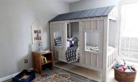 How to build a cabin bed
