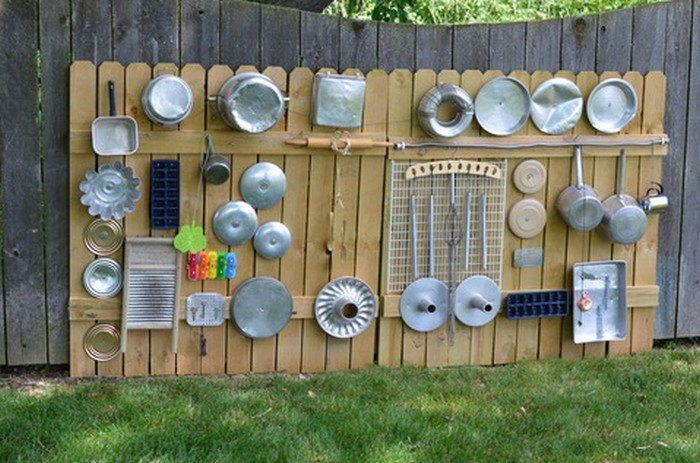 Music Classroom Wall Decorations ~ How to build an outdoor musical wall for kids diy