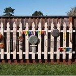 DIY Outdoor Music Wall