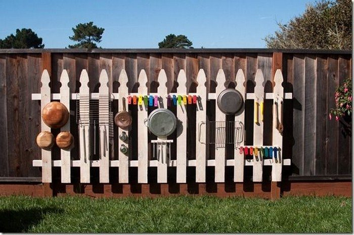 How to build an outdoor musical wall for kids | DIY ...