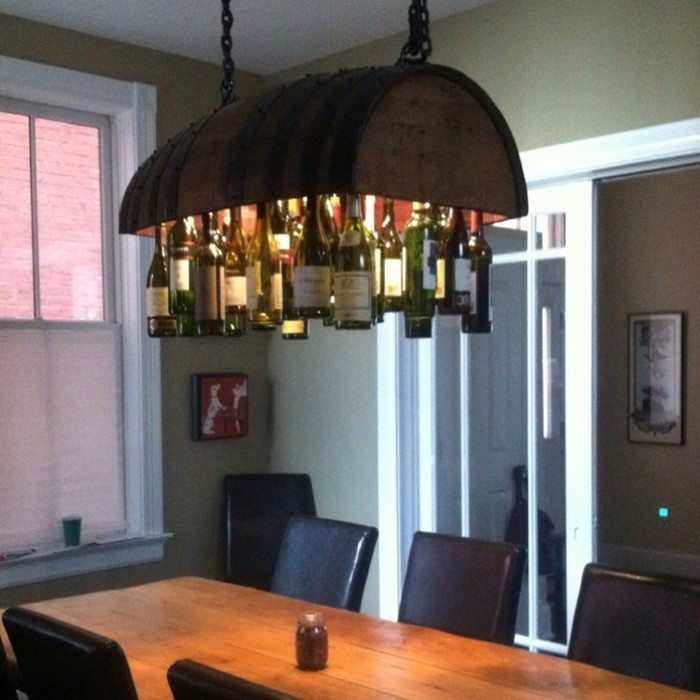 How to build a wine bottle chandelier diy projects for everyone diy wine bottle chandelier aloadofball Choice Image