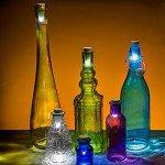 Glass Bottle Decorative Lantern