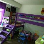Loft Bed with Stair