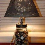 Mason Jar Lamp