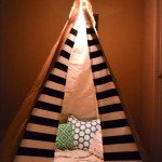 No Sew Teepee Tent