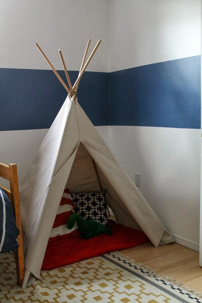 How To Make A No Sew Teepee Tent For Kids Diy Projects