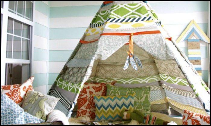 No Sew Teepee Tent Main Image
