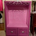 Old Entertainment Center Kids Armoire