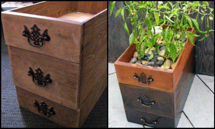 Self-Watering Dresser Drawer Planter Main Image