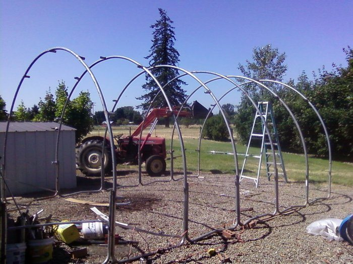 Turn An Old Trampoline Into A Shed Diy Projects For