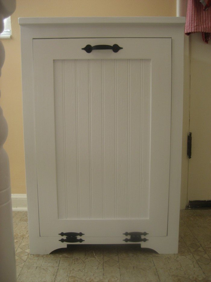 How To Build A Tilt Out Trash Cabinet Diy Projects For