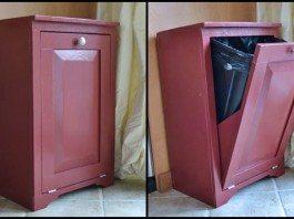 Tilt-Out Trash Cabinet Main Image