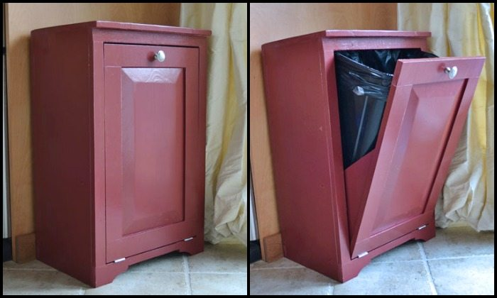 How to build a tilt-out trash cabinet | DIY projects for everyone!