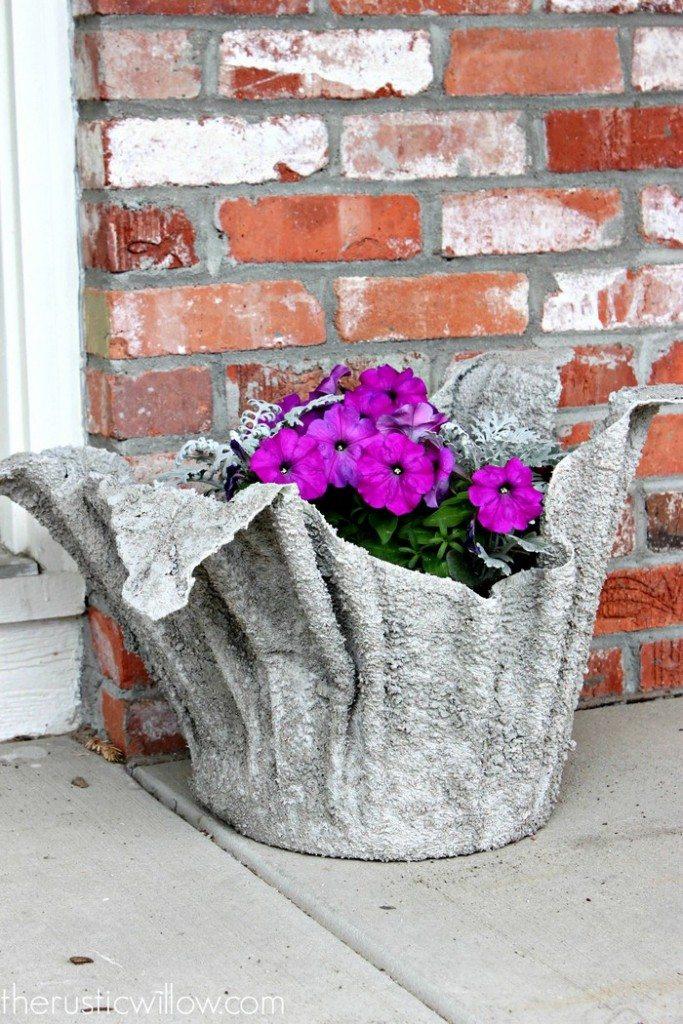 Cement Towel Planters