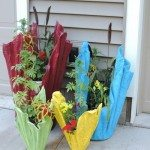 Cement Towel Planters