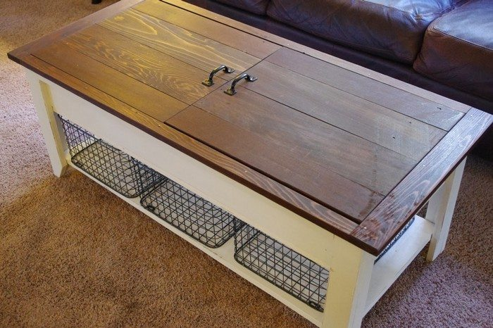 Coffee Table With Lego Storage DIY Projects For Everyone