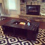 DIY Crate Coffee Table Samples