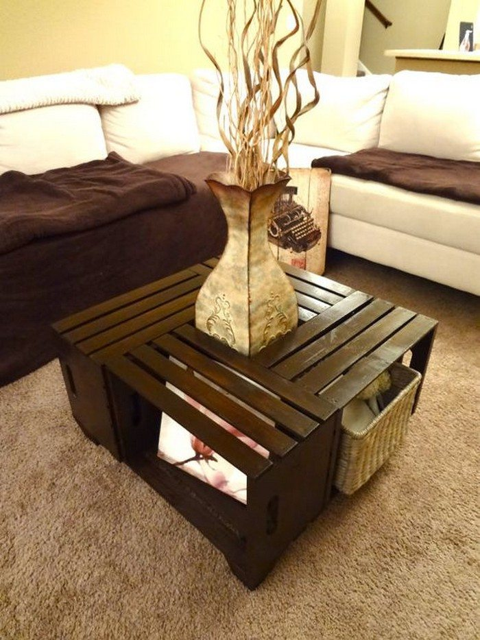 How to build a crate coffee table DIY projects for everyone