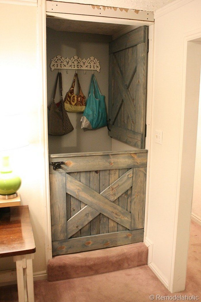 How to build a dutch barn door diy projects for everyone for Half door ideas
