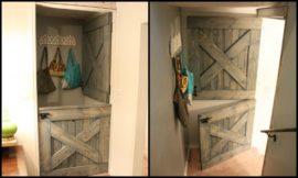 How to build a Dutch barn door
