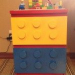 DIY Lego Themed Dresser