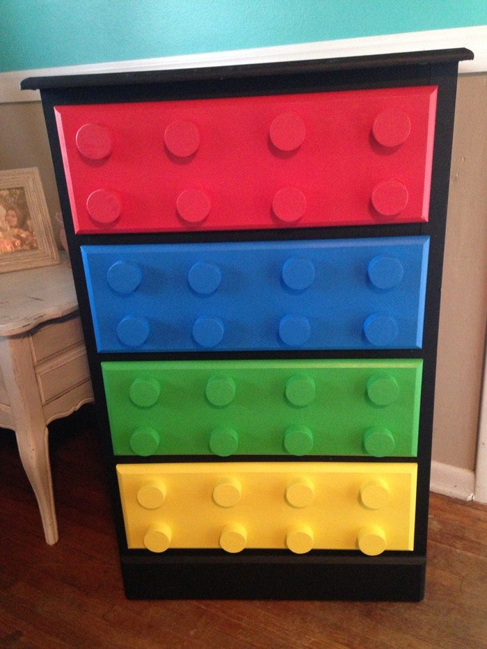 How To Build A Lego Themed Dresser DIY Projects For