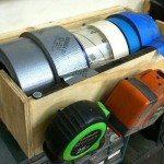 DIY Multi-Roll Tape Dispenser