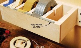 How to build a multiple roll tape dispenser