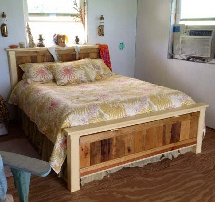 Farmhouse Bed With Drawers Diy Projects For Everyone