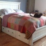 Farmhouse Bed with Drawers