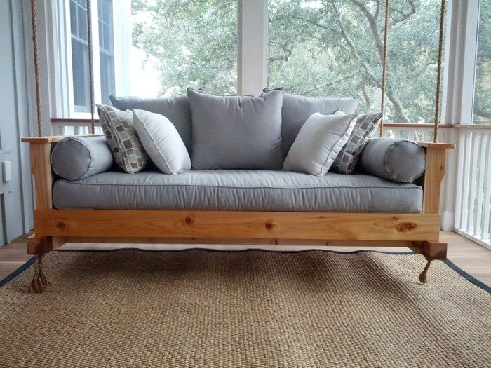 How To Build A Hanging Daybed Swing Diy Projects For Everyone