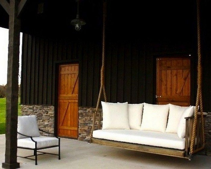 How to build a hanging daybed swing diy projects for for How to make a hanging bed