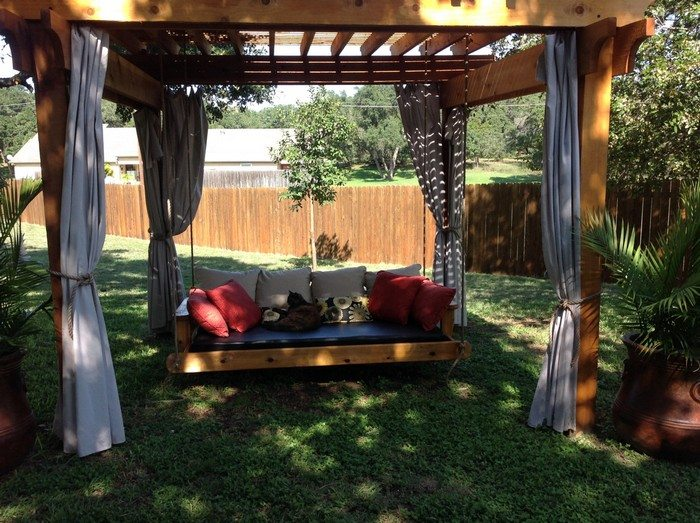 How to build a hanging daybed swing diy projects for - How to build a hanging bed ...