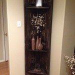 Old Door Corner Shelf