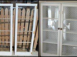 Old Window Cabinet Main Image