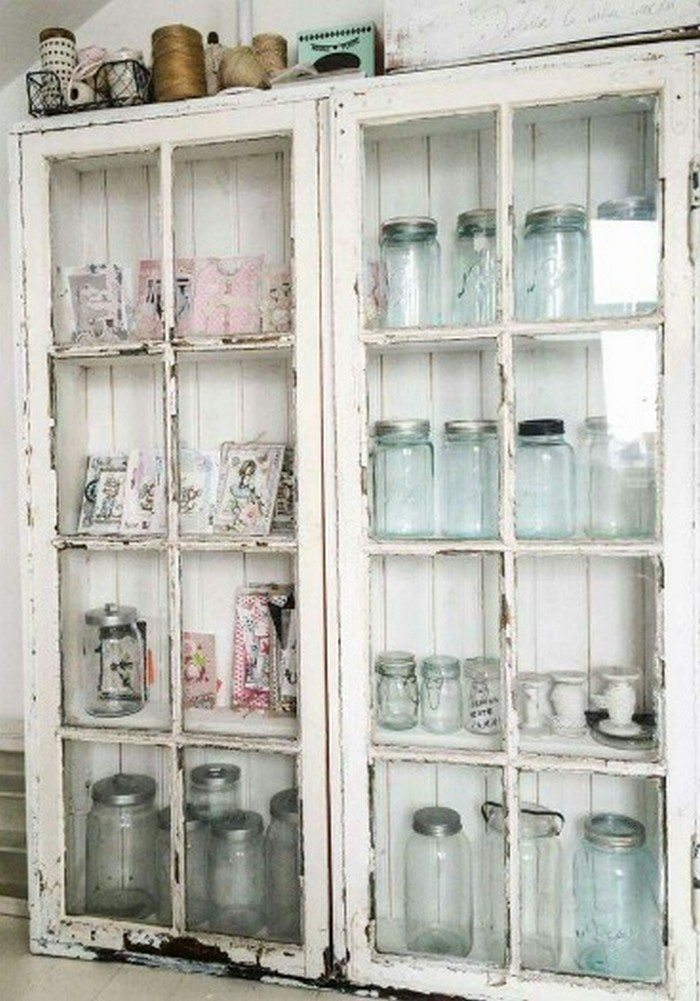 Turn an old window into a cabinet diy projects for everyone for 2 pane window