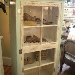 Old Window Pane Cabinet