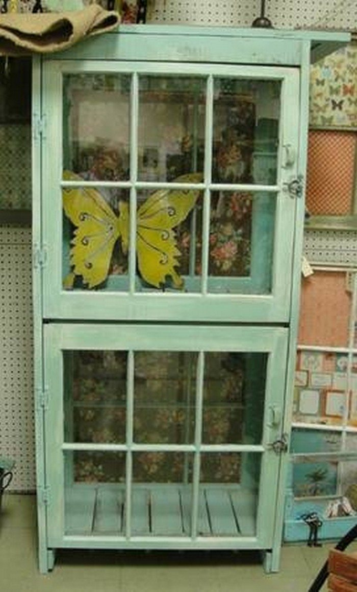 Turn an old window into a cabinet | DIY projects for everyone!