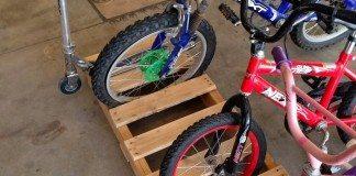 Pallet Bike Rack Featured Image