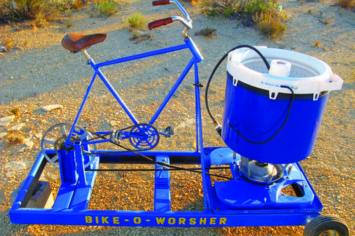 Pedal Powered Washing Machine