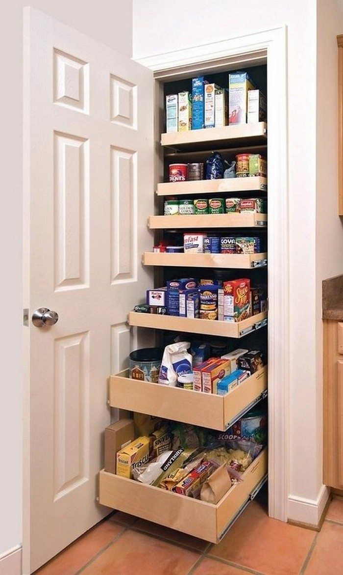 How to build pull out pantry shelves diy projects for everyone pullout pantry shelves solutioingenieria Image collections