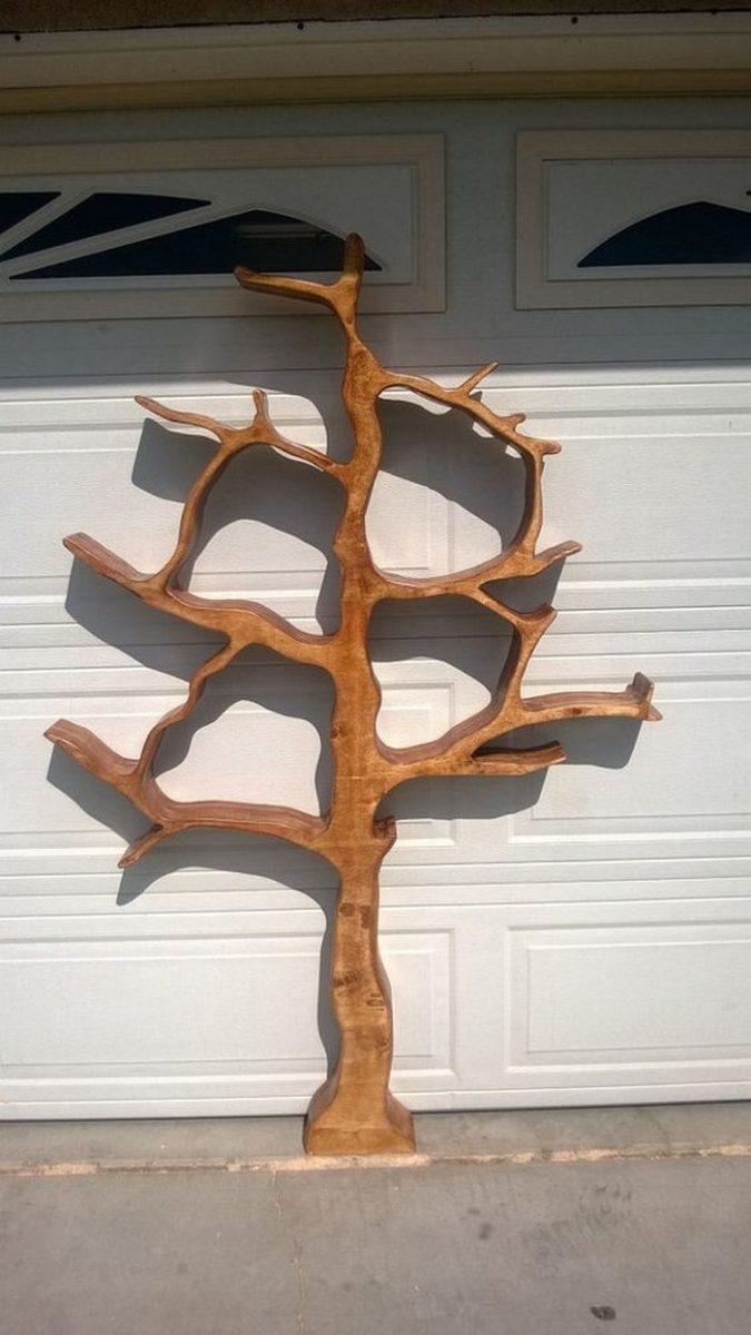 Tree-Shaped-Bookshelf-06 How To Build A Book Christmas Tree