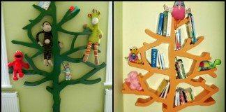 Tree Shaped Bookshelf Main Image
