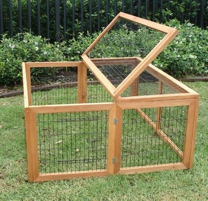 Diy Collapsible Chicken Run Diy Projects For Everyone
