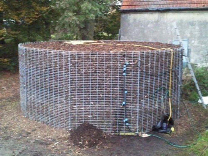 how to build a compost heating system diy projects for everyone. Black Bedroom Furniture Sets. Home Design Ideas